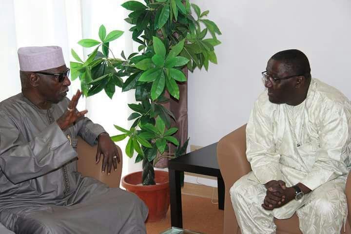 Le Consul a reçu le Khalif général des Tidjane Serigne Mbaye Sy Mansour