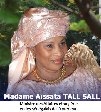 Ministre des Affaires Étrangères et des Sénégalais de l'Extérieur