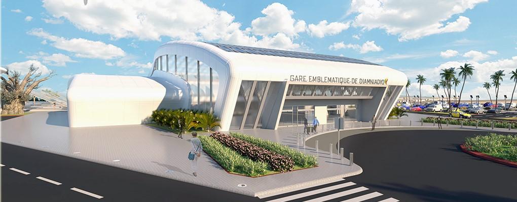 Gare TER Diamniadio