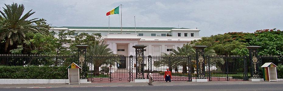 Le Palais Présidentiel du Sénégal