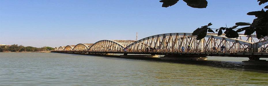 Pont Faidherbe de Saint Louis du Sénégal